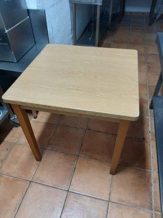 mesas de madera 3 unidades