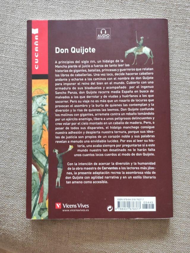 Libro, Don Quijote