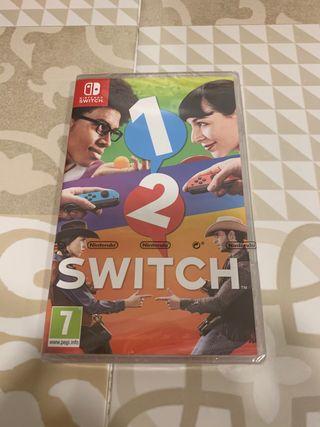 Juego Switch precintado