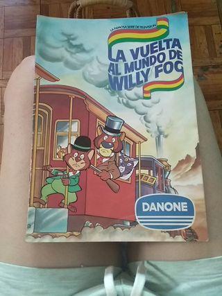Álbum cromos La Vuelta al Mundo de Willy Fog