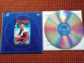 Van Damme, laser disc grande 12 pulgadas