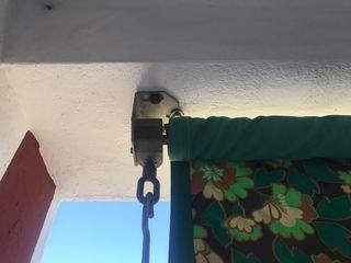Toldo terraza con brazos 2,38 m.