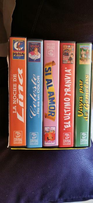 estuche VHS lina Morgan
