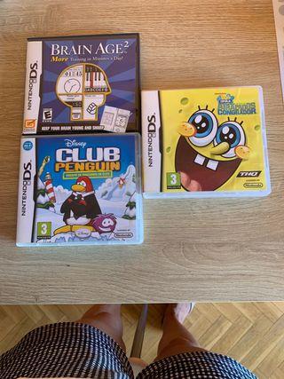 Videojuegos para Nintendo DS