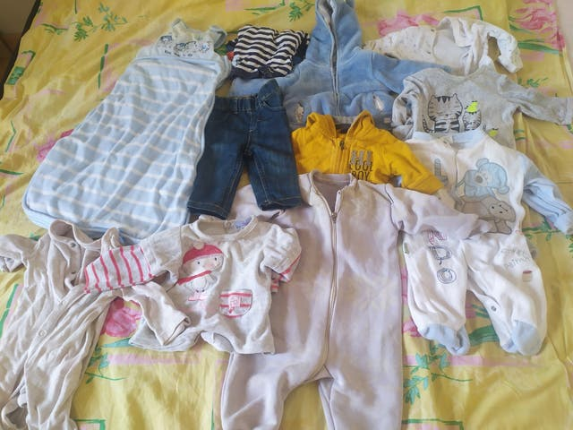 ropa bebe invierno 3-6 mes
