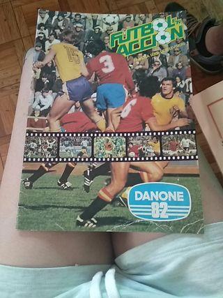 Álbum cromos mundial 82 Danone