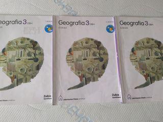 3 DBH GEOGRAFIA 3 LIBROS