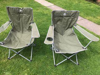 2 Euro hike folding garden chairs