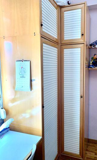 Armarios de madera habitación completa