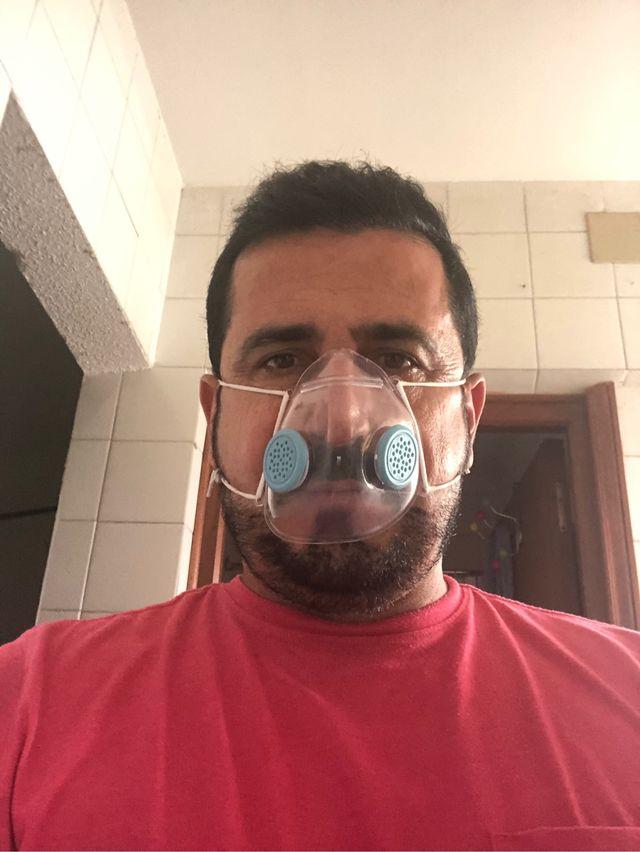 Máscaras transparente con filtros incluidos