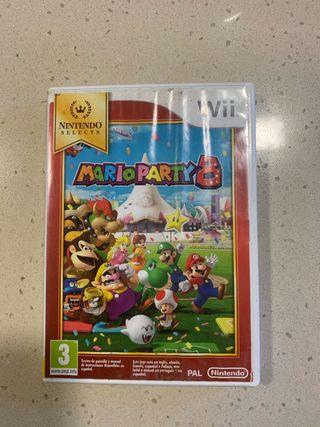 MarioParty 8 + deportes de la Wii