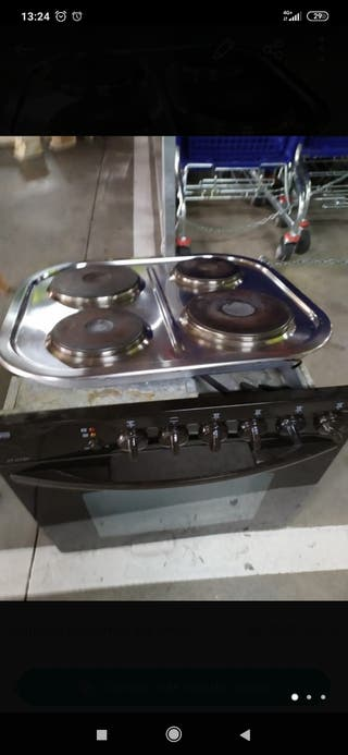 Conjunto de horno y placa Teka electrico