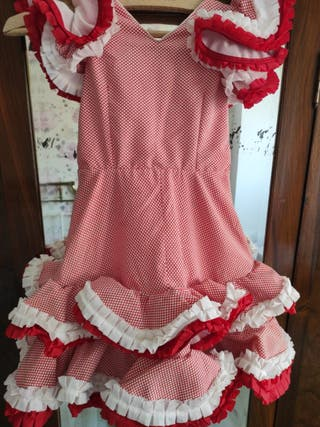 vestido de gitana niña vintage