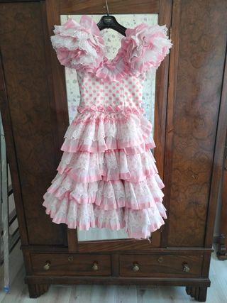 vestido de niña de gitana