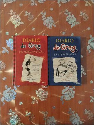 Pack diario de Greg 1 y 2