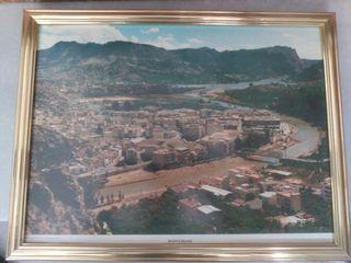 Cuadro antiguo vista aérea Blanca