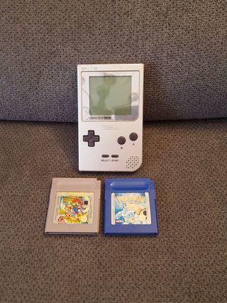 Game Boy Pocket + 2 juegos