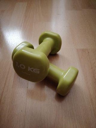 Pesas 1kg decathlon