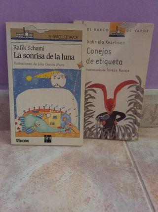Libros 5€ cada uno