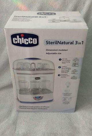 Esterilizador CHICCO 3 en 1 Nuevo! Biberones, etc