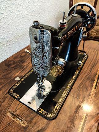 Máquina de coser vintage Sigma A 107-6