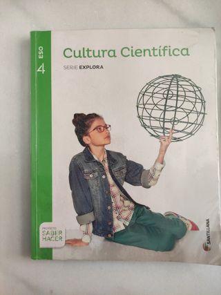 Cultura Cientifica 4 ESO