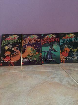 """Coleccion libros """"Astrosaurus"""""""