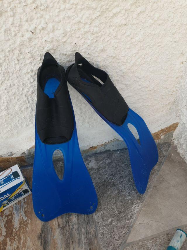 aletas especiales para snorkel
