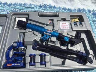 Conjunto cientifico Telescopio y Microscopio