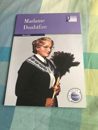 Libro Madame Doubtfire. Anne Fine. Burlington