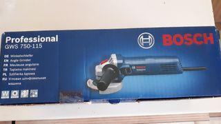Radial Amoladora Bosch Nueva