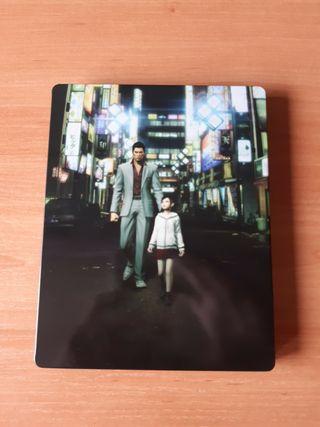 yakuza kiwami ed steel book ps4