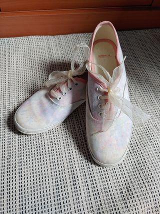 zapatillas lazo