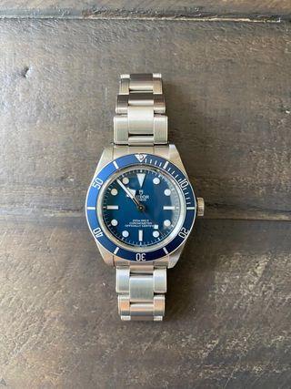 Tudor black bay 58 azul