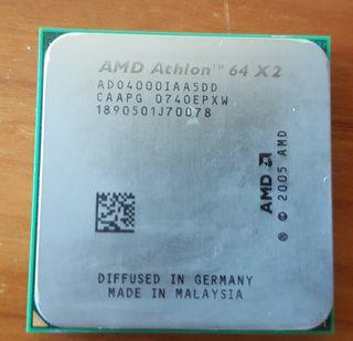 cpu amd athlon 64 x2 CAAPG