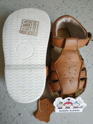 Sandalias todo piel talla 19