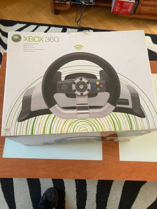 Volante con pedales xbox 360