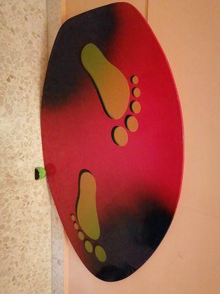 tabla niño surf de madera