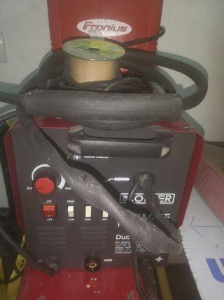 soldador de hilo y electrodo sin gas o con gas