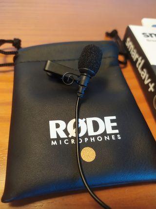 Rode Smartlav+ Micrófono portátil
