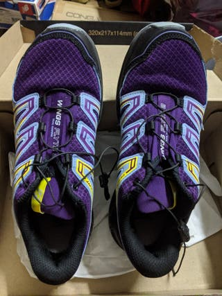 zapatillas salomon hombre segunda mano 4x4