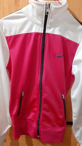 chaqueta rosa nike