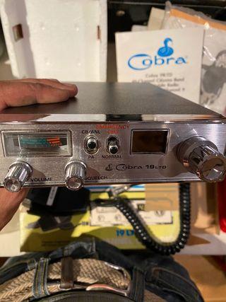 Emisora vintage Cobra 19 ltd