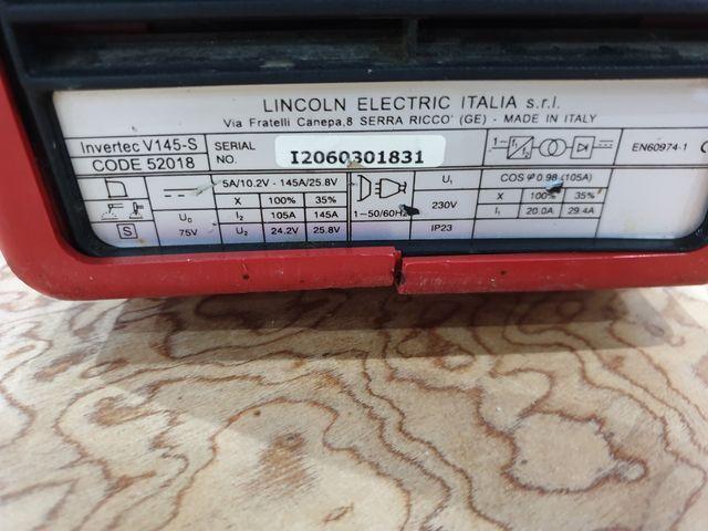 Lincoln Electric grupo soldar soldador arco tig
