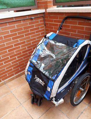 carro / remolque para bici niños