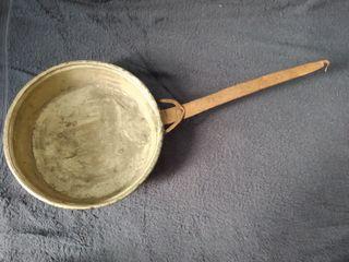 Sarten antigua cobre hierro forjado pequeña