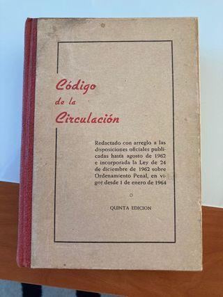 Libro código de circulación 1964