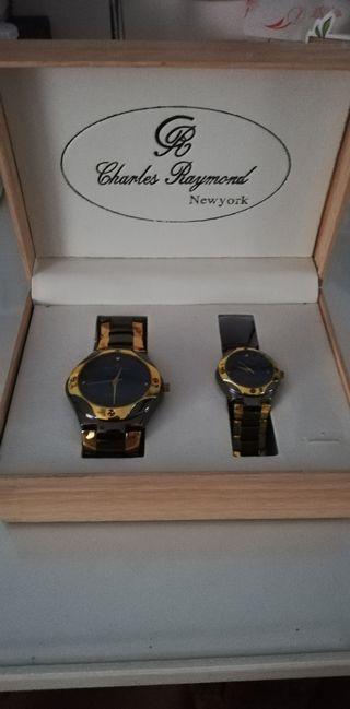 Reloj de pulsera.