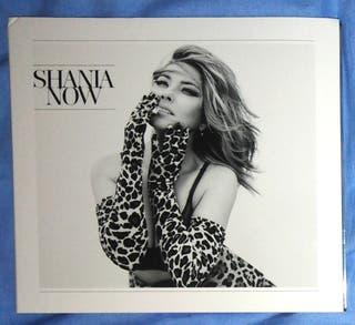 Shania Twain cd now (deluxe)