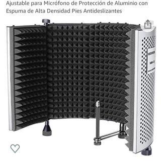 Panel de Aislamiento Vocal Micrófono Profesional